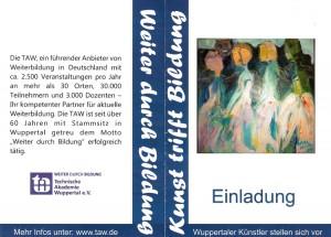 Ausstellung Technische Akademie Wuppertal